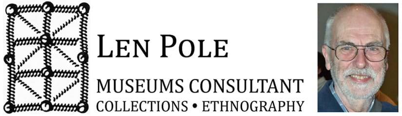 Logo - Len Pole Museums Consultant