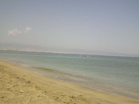 Ladies Mile beach, great for children as it is calm and shallow.