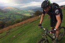Great mountain biking from the door - The Crickhowell Red/Black Loop