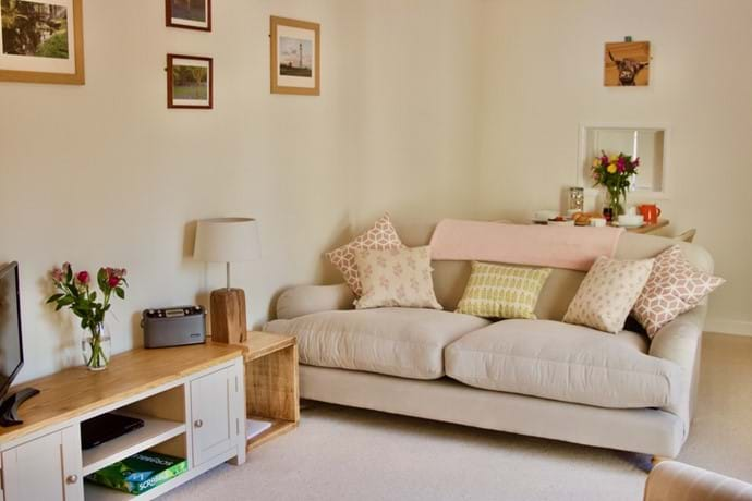 comfy sitting room for holiday in New forest