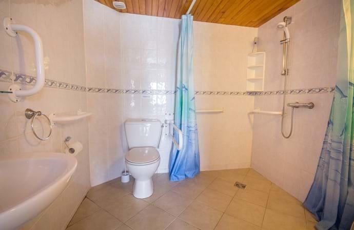 Ground Floor Wet Room (Wheel Chair Accessible)