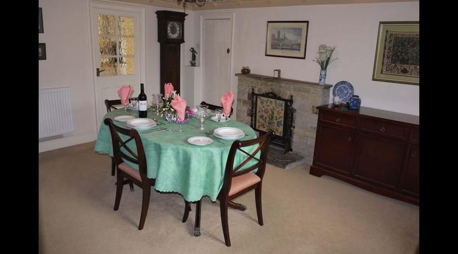 Corner House - Dining Room