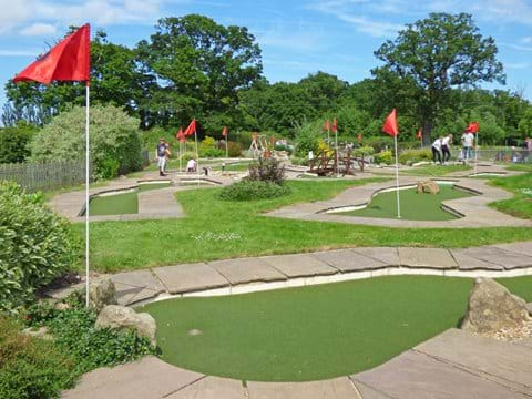 Wroxham Barns Mini Golf