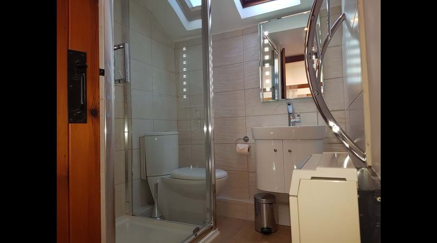 Luxury ensuite with large shower