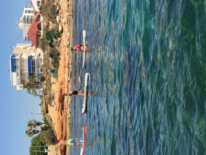 SUP and surf lessons in Torrevieja