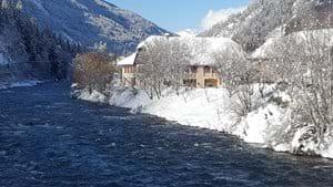 River Möll January 2021