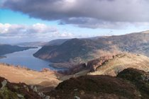 North end of Ullswater from Sheffield Pike