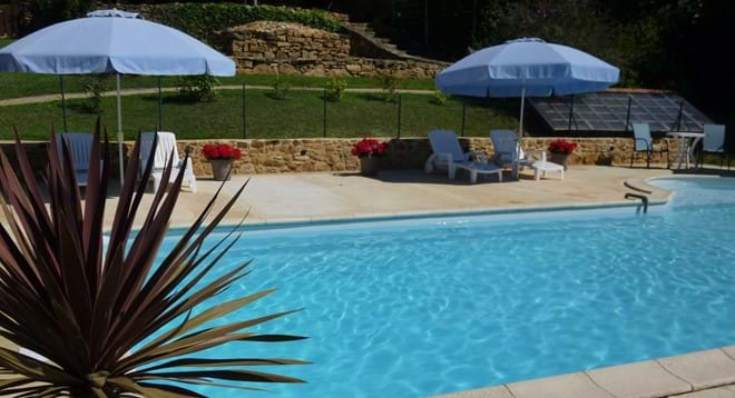 return from Lascaux and relax by the pool