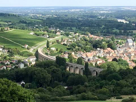 Looking down from Sancerre