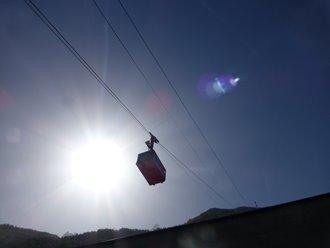 The Aiguille Du Midi Cable Car