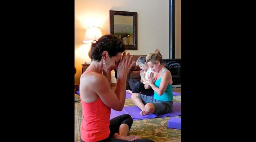 Enjoy yoga.