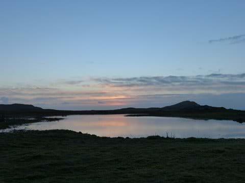 Loch Fada at sunset