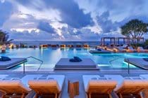 """""""The main 1 pool one of four , full ocean views luxurious sunbeds full service"""""""