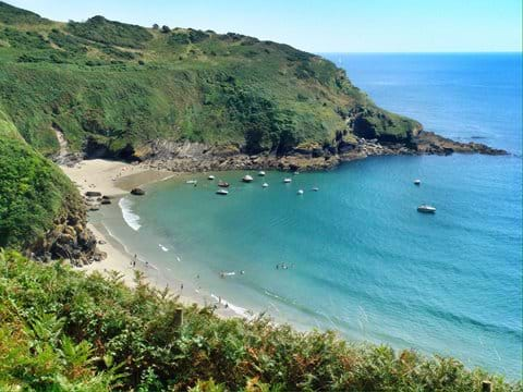 The Coastal Path to Polruan (for Fowey)