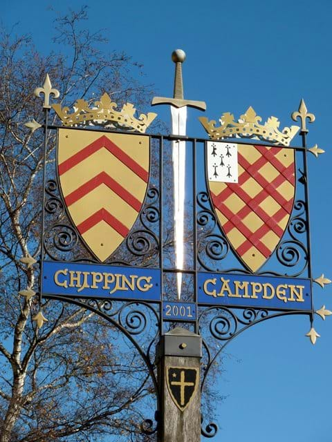 Chipping Campden - the start of the Cotswold Way walking trail