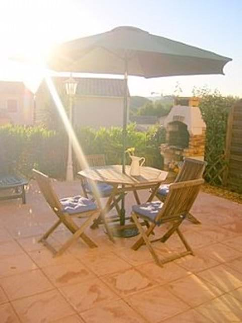 The sunny terrasse