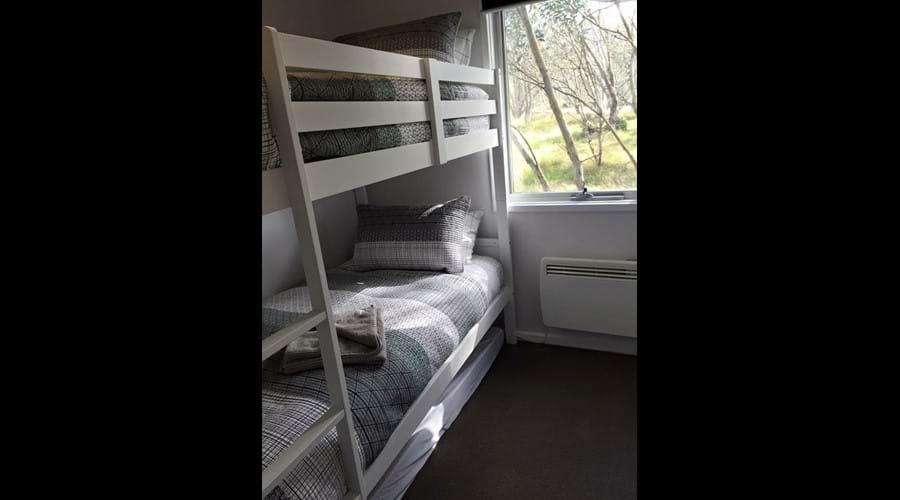 Ground Floor Bedroom 2 - Bunk single beds