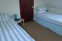 First Floor Twin Bedroom with twin single beds (3