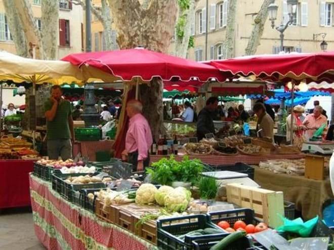 Market in Aix en Provence