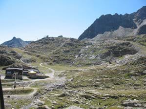Hiking Paths Molltal Glacier