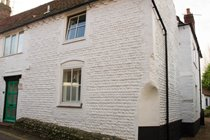 Benbow Cottage and side access to parking and stable door