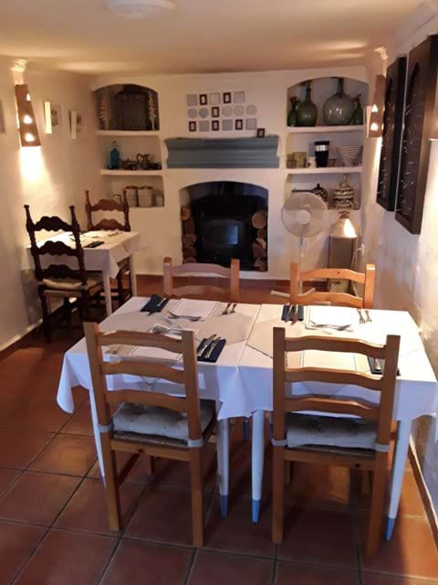 Our Middle Dining Area with the Covid and Social Distancing Restrictions in Place.