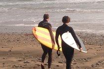 Enjoy the island surf