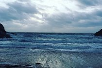 Stormy seas, Fenella Beach, Peel