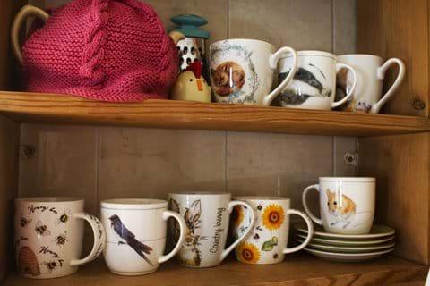 British wildlife Mugs most are bone  china