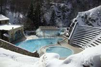St Thomas thermal baths - good in the summer, even better in the winter!