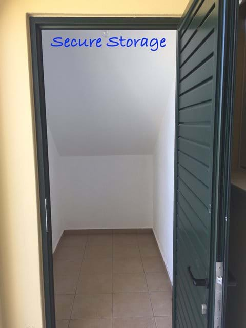Secure Storage for your Luggage, etc...