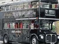 Scary ghost bus tour