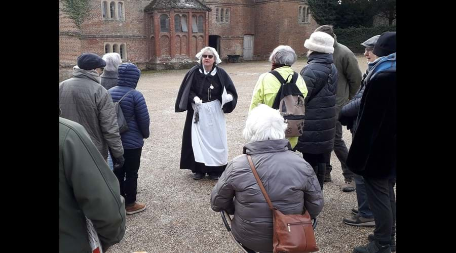 Visit to Audley End House service wing and stables on 2 February 2019