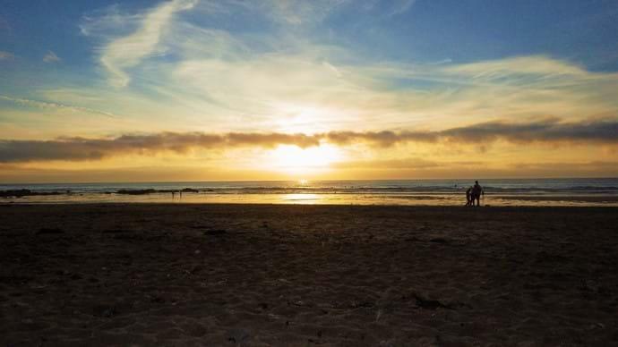 Enjoy a BBQ on the beach as the sun goes down.