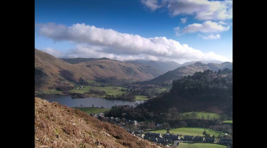 Glenridding and south end of Ullswater