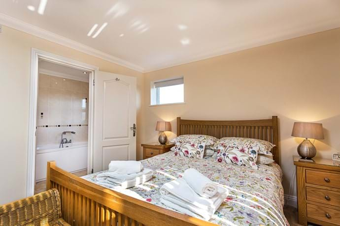 Ground floor master with ensuite view