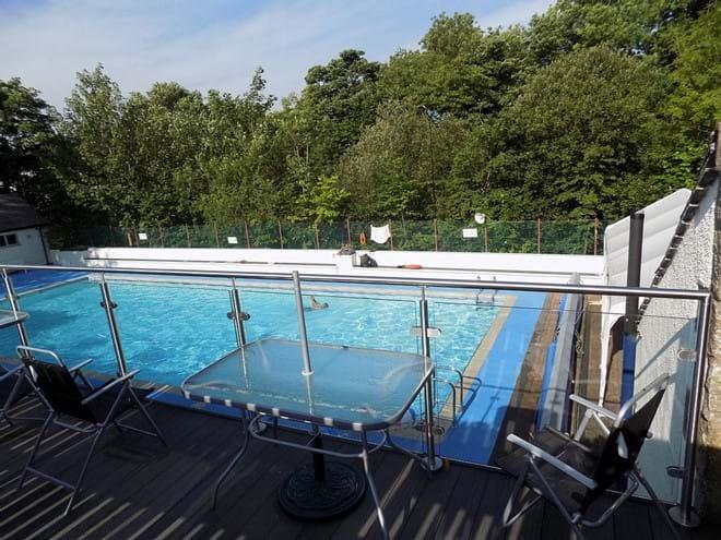 Ingleton Open-Air Swimming Pool.