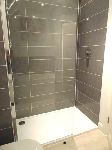 Top Floor Shower