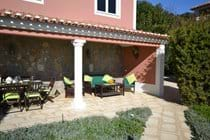 Shady spot in your private villa for rent in Algarve Portugal