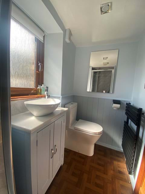 New bathroom fitted 2021 with large walk in shower