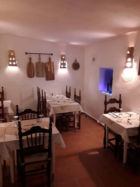 Our First Dining Area.