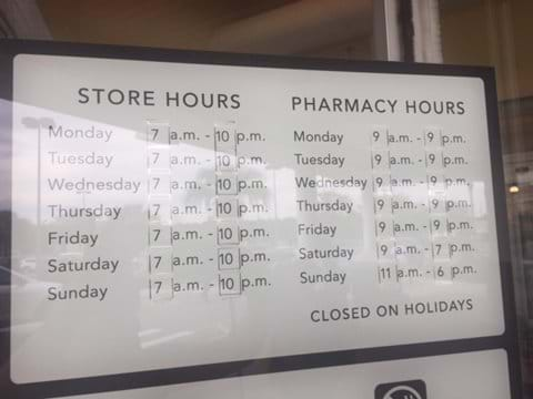 Publix Opening Hours