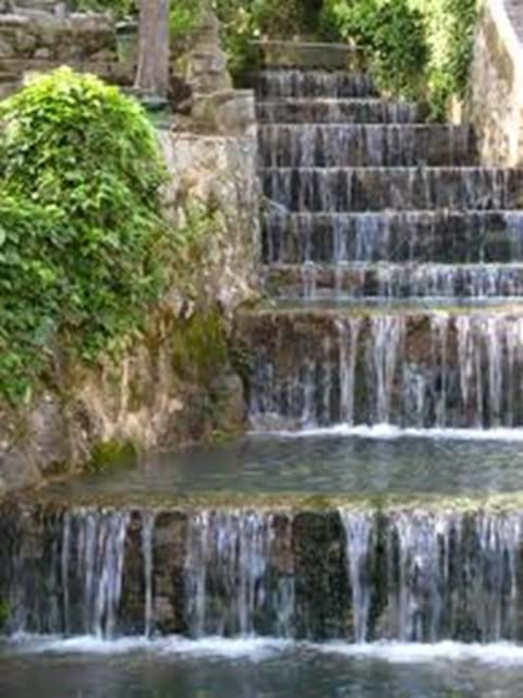 Waterfall in Caldas