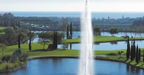 Los Flamingos - great course, stunning views