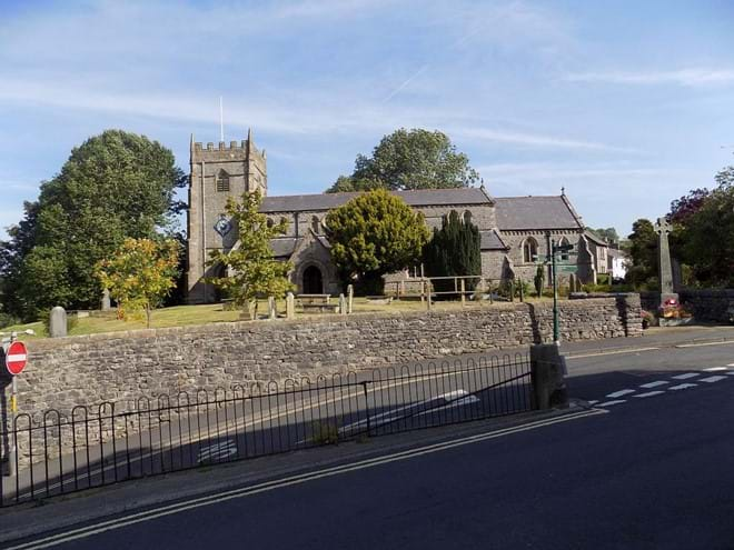 Ingleton Parish Church of St Mary's.