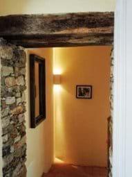 Villa Rustica exposed stone 1st floor corridor