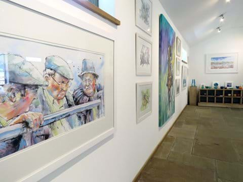 Paintings in The Gallery by Rob Walker