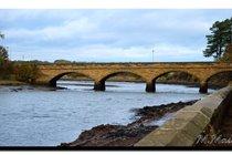 Duchess' Bridge, Alnmouth. Lovers walk path on right.