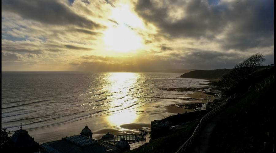 South Bay as sun rises