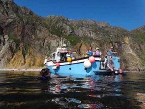 Sliabh Liag boat tour from Teelin pier